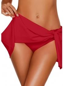 Ladies Ruffled Skirt Briefs Swimming Trunks By Banggood