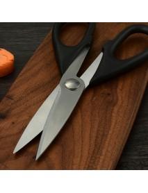 XYJ CBXG3985 Kitchen Multifunctional Stainless Steel Scissors Chicken Bone Scissor Duck Fish Shear Cutter