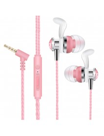 ACZ X8 3.5mm Wired Control Earphone In-ear Heavy Bass Earbuds with Mic for iPhone Xiaomi Huawei