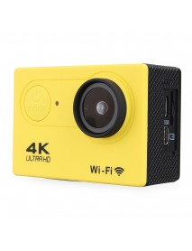 4K Action Camera WiFi Sports Camera Ultra HD 30M 170 Wide Angle Waterproof DV Camcorder with EIS Gyroscope Dual Anti Shake