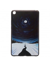 TPU Back Case Cover Tablet Case for XIAOMI Mipad 4 - Star Sky Version