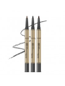 3 In 1 Eyebrow Pencil Waterproof Eyebrow Pen Long-Lasting Eyebrow Cream 3D Eyebrow Makeup