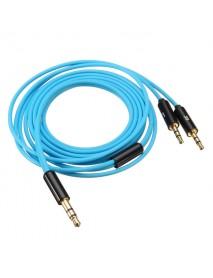 1.2M Blue Audio Cable For Sol Republic Master Tracks HD V8 V10 V12 X3 Headphone