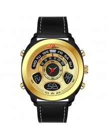 KAT-WACH KT713 Dual Display Digital Watch Fashion Men Chronograph Luminous Sport Watch