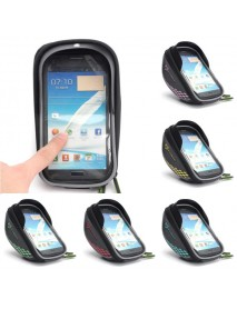 Bike Bicycle Frame Bag Phone Case Clear Handlebar Bags Pannier Holder Touch Screen Bag