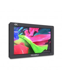FEELWORLD FW703 7 Inch 3G SDI 4K HD IPS LCD On-camera Monitor for DSLR Camera