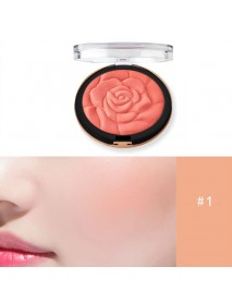 Blush Fashion Flower Shaped Blusher Powder Makeup Cosmetic Natural Blush Powder Blush Palette Face Makeup Peach Blushes