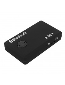 2-In-1 3.5mm Bluetooth 3.0 Audio Transmitter Receiver Bluetooth TX RX Mode Adapter