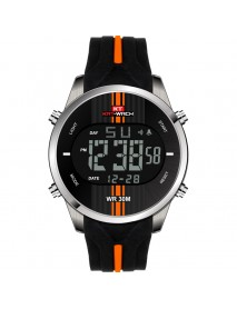 KAT-WACH KT716 Digital Watch Fashion Silicone Stopwatch Waterproof Watch Alarm Outdoor Sport Watch