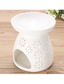 Ceramic Fragrance Essential Oil Burners Aromatherapy Scent Candle Holder Home Incense Burner