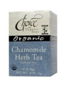Choice Organic Teas Chamomile Herb Tea (6x16 Bag)
