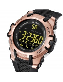 NORTH NS-2007 Calories SMS Alerts Bluetooth Watch Military Style LED Display Smart Watches