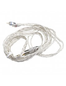 0.75mm Insert Needle Braided Headphone Cable Earphone Wire For KZ ZST/ZSR/ES3/ED12 Earphone
