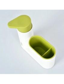 2Pcs Washing Utensils Hand Sanitizer  Detergent Bottled Storage Box