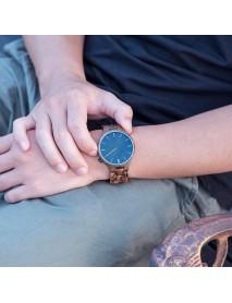 BOBO BIRD S27 Casual Style Men Wrist Watch Wooden Creative Quartz Watches