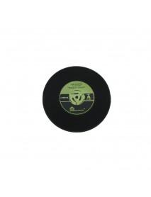 Honana Environmental Plastic Vinyl Record Cup Coaster Table Placemats Simple and Creative Mug Coaster Heat-resistant