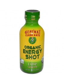 Guayaki Lime Tangerine Energy Shot (12x2 Oz)