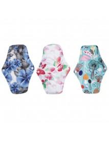 7 Pcs Soft Washable Menstrual Menst Panty Pad Bag Regular Flow Organic Reusable