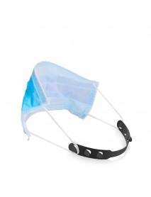 Face Mask Extension Belt 3 Slots Adjustable Plastic Ear Protection Mask Hanging Hook Buckle