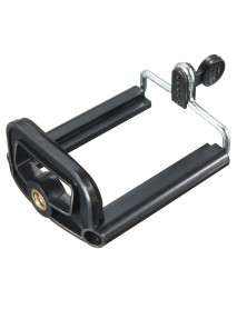 Cell Phone Camera Stand Clip Tripod Bracket Holder Mount Adapter