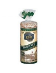 Lundberg Farms Rice Cakes Brown Rice Cake No Salt (12x8.5 Oz)
