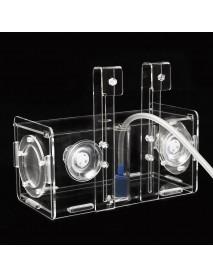 Acrylic Clear Fish Breeding Hatchery Incubator Aquarium Breeder Isolation Box