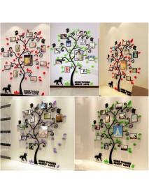 3D Photo Frame Family Tree Wall Sticker Living Room Bedroom Decor