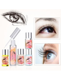 Lucky Fine 7Pcs/ Set Eyelashes Curler Perm Kit Eyelash Lotion Perm Curler Kit Eye Lashes Lift Liquid Makeup Set