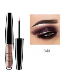 16 Color Metallic Shimmy Eyeliner Eye Shadow Waterproof  Long-lasting