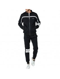 Men's Spring Autumn Casual Loose Zipper Sports Suit Sportswear