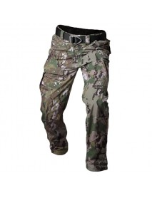 Archon Tactical Pants Men's Outdoors Waterproof Camouflage Multi Pocket Military Casual Pant