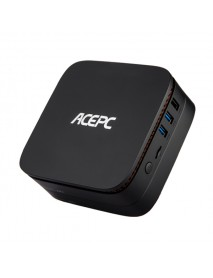 ACEPC AK1 J3455 4GB RAM 32GB ROM 1000M LAN 5.0G WIFI Bluetooth 4.0 TV Box Support Windows 10