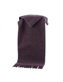 LYZA 190cm British Style Scarf Men's Long Wool Scarf Soft Shawl Neckercheif