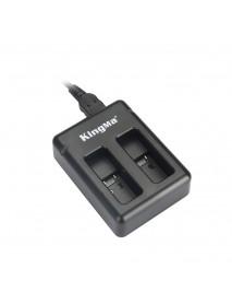 KingMa BM042 Portable Dual USB Camera Battery Charger for GoPro HERO 5 6 Action Camera AHDBT-501