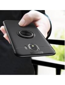 C-KU 360 Rotating Ring Grip Kicktand Protective Case For Samsung Galaxy J4 2018