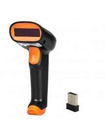 NETUM S2 2.4G Wireless 1D Barcode Scanner Up to 50m Laser Light USB Wired Wireless 1D Scanner Reader