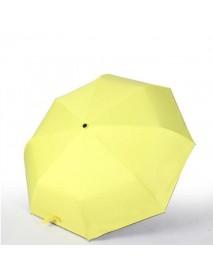 1Pc Fully Automatic Black Rubber Umbrella Folding Male Business Umbrellas