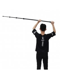 3.5M 137 Inch Aluminum Alloy Boom Microphone Telescoping Lightweight Rob Pole