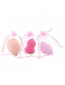 1Pcs Gourd Makeup Puff Water Drop Puff Beveled Powder Sponge Makeup Egg Beauty Tool