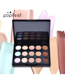 POPFEEL Eye Shadow Set Eyeshadow Lipstick And Brushes