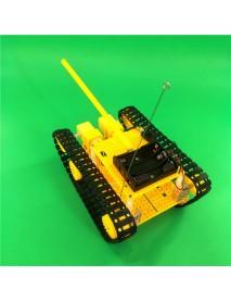 DIY RC Robot Tank STEAM Assembled Robot Toy Kit