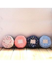 Circular Zip Nectar Purse Coins Bag Lady Key Bag