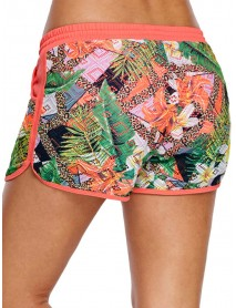 Printed Lace Beach Swimming Trunks For Women By Banggod