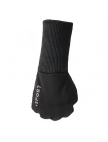Unisex Waterproof Anti-slip Wrist Lengthening Glove Sport Touch Screen Warm Lining Gloves