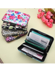 Aluminum Metal Pocket Business ID Credit Card Wallet Holder Waterproof Case