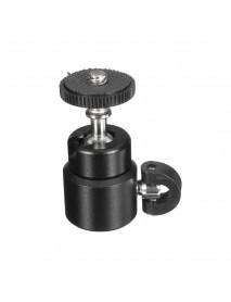 1/4 inch Metal Mini Ball Head Flash Bracket Holder Screw For Camera Tripod Hot Shoe