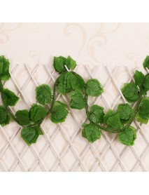 1/3/5pcs Leaf Artificial Ivy Garland Plants Vine 7.6ft Foliage Flowers Home Decorations