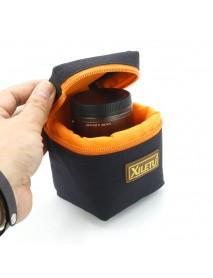XILETU LP-3 Waterproof Camera Lens Bag Case Pouch Anti-shock Padded Protector For Camera Canon Nikon Sony Fujifilm Lenses