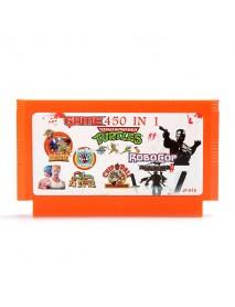 450 in 1 8 Bit Game Cartridge Ninja Turtles for NES Nintendo FC
