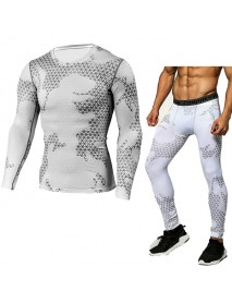 JACK CORDEE Cool Outdoor Camouflage Sports Suits PRO Compression Tights Jogger Gym Sportwear